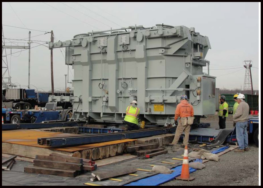 Transport & Rigging of Transformer to Burlington, NJ