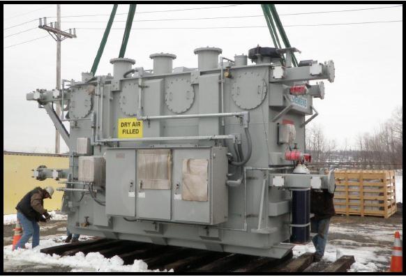 Transport & Rigging of Transformer to Ebensburg, PA